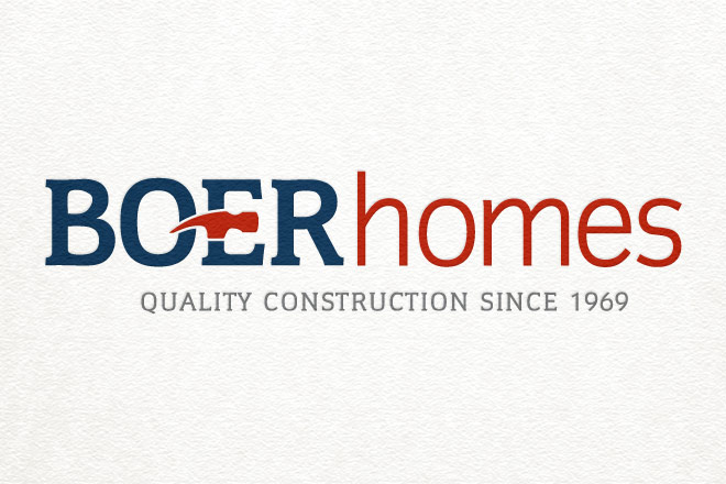 boer homes logo brandmark