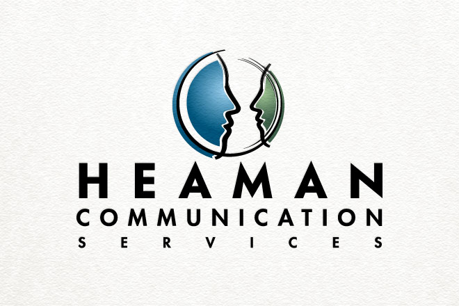 heaman communications logo brandmark